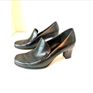 Franco Sarto Dress Shoes Leather Size 6M Black